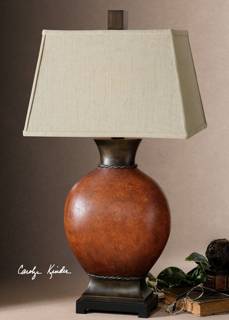 Suri Brunished Red Table Lamp. Red Table LampUttermost LightingLiving Room  ...