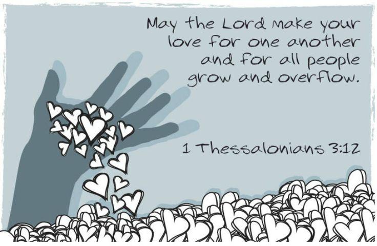 1 Thessalonians 3:12 | by joshtinpowers