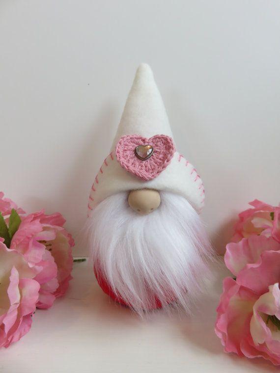 swedish tomte valentine gnome swedish gnomes by FlowerValleyGnomes