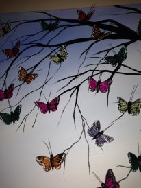 close up of my butterfly tree