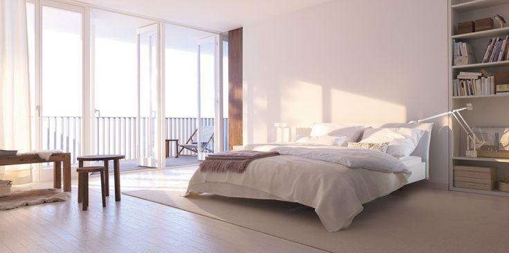 #interlübke Nocto Plus | Der Mensch verbringt fast ein Drittel seines Lebens mit Schlafen. Er darf sich also 30 Prozent seiner Zeit ohne schlechtes Gewissen in die Horizontale begeben. Wie gut, wenn man ein schönes Bett hat. Zum Beispiel eins ...