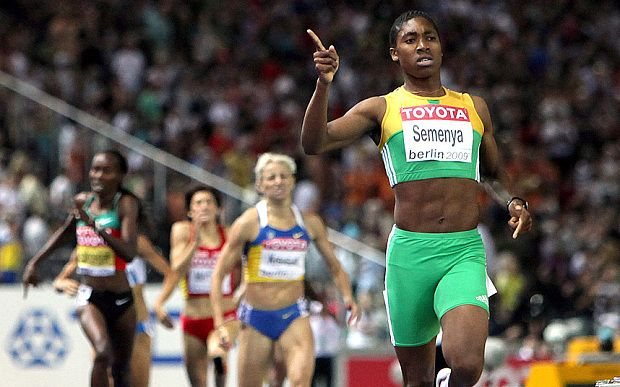 "Caster Semenya returns to running - after sex/gender ""verification"""