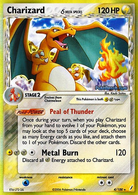 Fake Pokemon Card Mega Charizard Ex Full Art