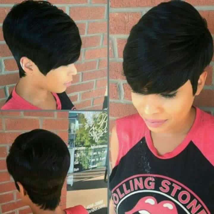 8 Best 27 Pc Quick Weave Styles Images On Pinterest Short Cuts
