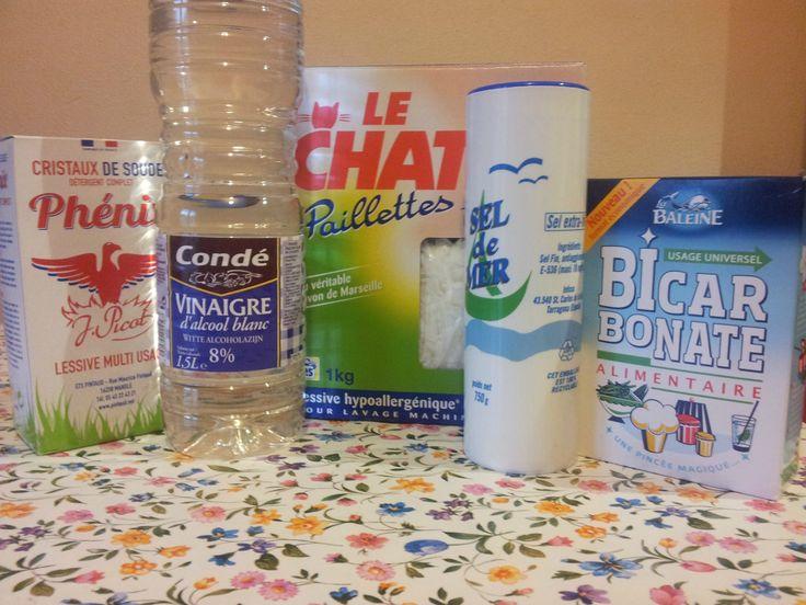 Du sel fin et pas trop de savon a essayer à la prochaine tournée!