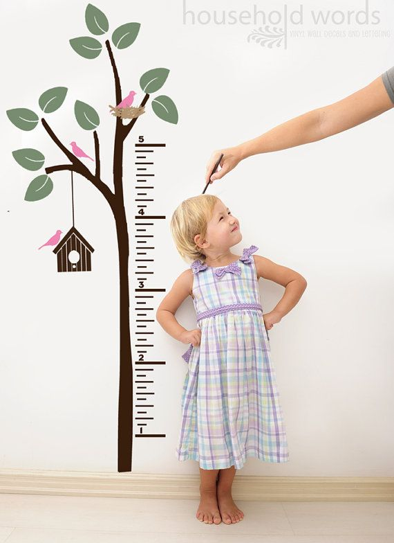 I love the idea of a growth chart, but think I want something portable in case we move before she's full grown.