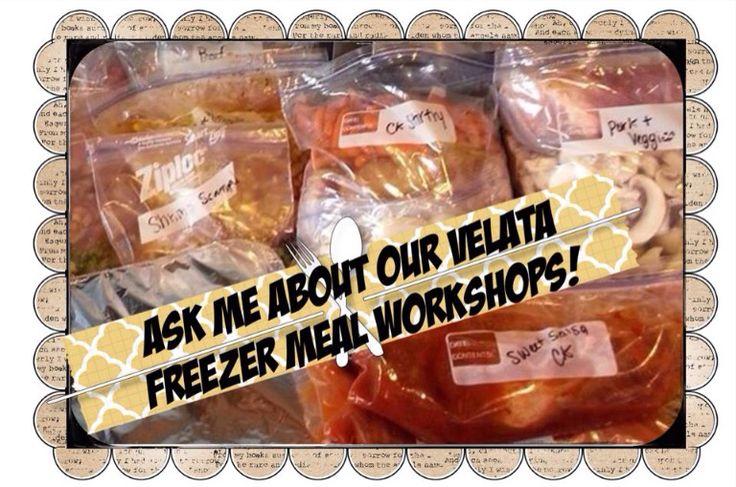 Freezer Meal Workshops!!!   Www.jenniferrenauld.velata.ca
