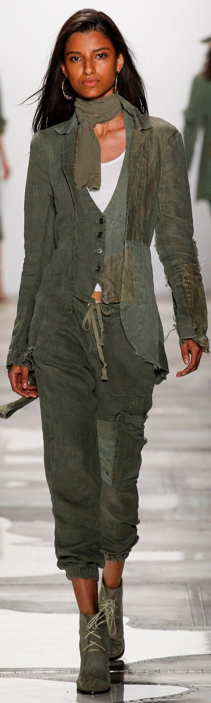 Greg Lauren Goes Military Chic for Spring