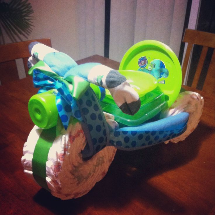 monsters inc diaper cake gift ideas pinterest monsters inc