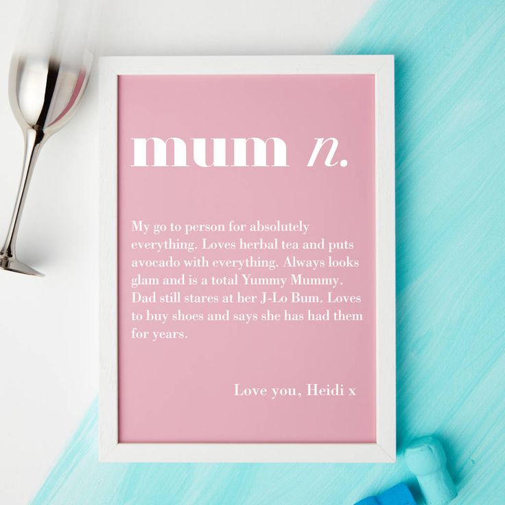 Are you interested in our mum gift? With our personalised mum gift you need look no further.