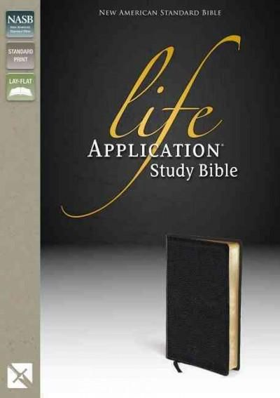 Life Application Study Bible New American Standard Bible: Top Grain Leather