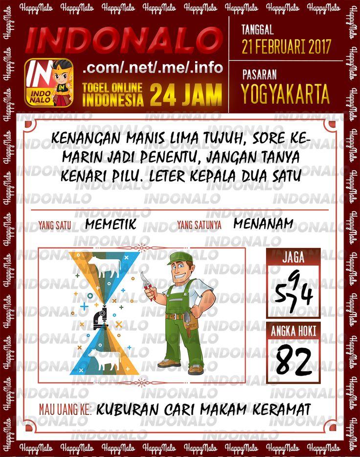 Taysen Hoki 6D Togel Wap Online Live Draw 4D Indonalo Yogyakarta 21 Februari 2017