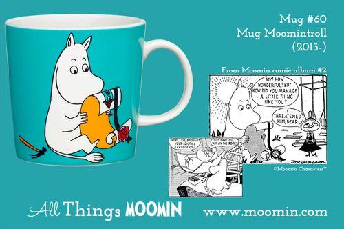 Moomin.com - Moomin mug Moomintroll / Mummitrollet
