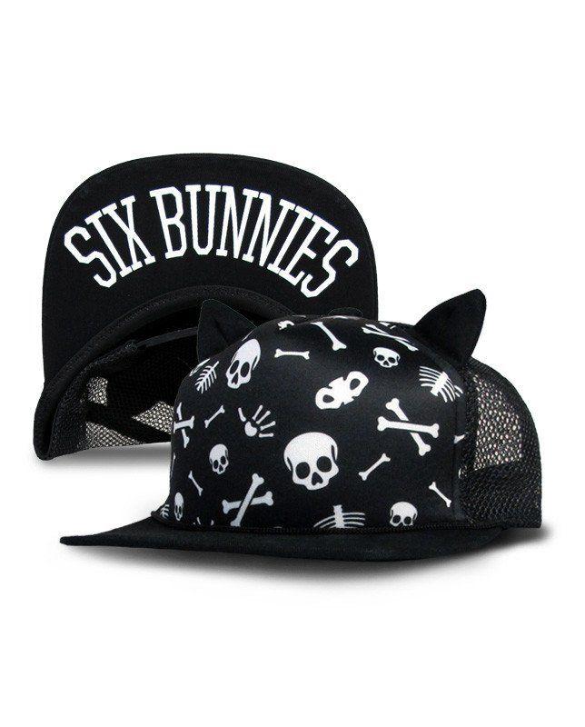 Skulls & Bones Cap with Ears