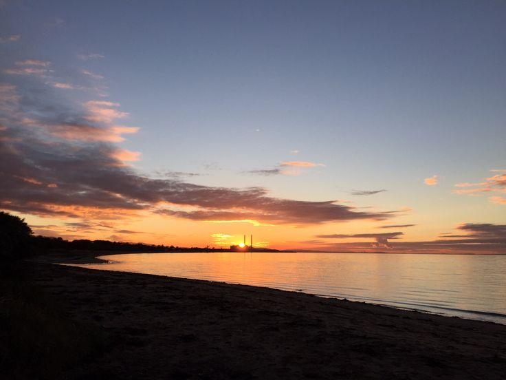 Sunset, Longniddry