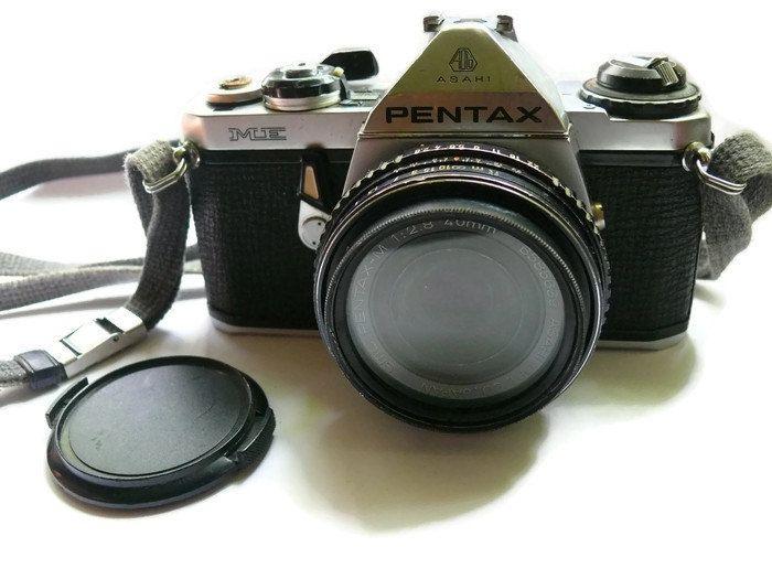 Pentax Asahi ME, Pentax 35mm Camera, Vintage Pentax Camera, 35mm Camera, Pentax ME, 35 mm Film by HarmlessBananasTribe on Etsy