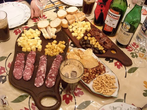 ♥ Picada Argentina = Antipasti = Appetizer
