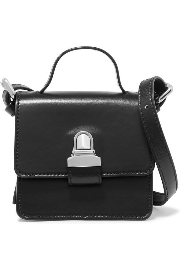 Small leather shoulder bag | MM6 MAISON MARGIELA | Sale up to 70% off | THE OUTNET