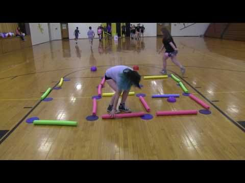Dots and Boxes PE Relay - YouTube