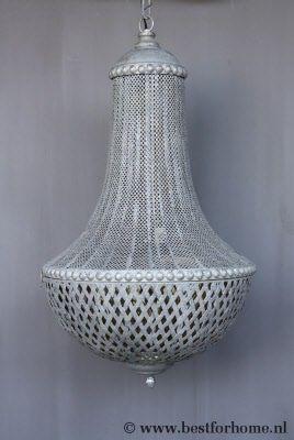 Sober Chic Landelijke Kroonluchter Puur Metalen Hanglamp