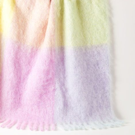 Pastel Mohair Throw | ZARA HOME United States of America