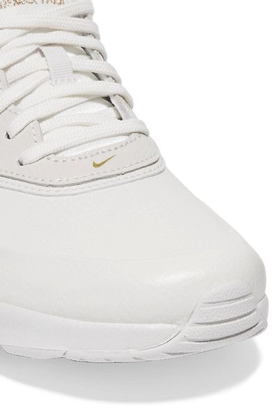 Nike - Air Max Thea Perforated Leather Sneakers - White