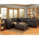 San Marco 6 Piece L-Shaped Sectional by Signature Design by Ashley - Beck's Furniture - Sofa Sectional Sacramento, Rancho Cordova, Roseville, California