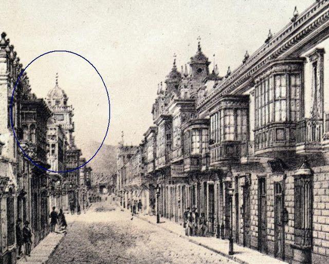 Lima la Única: El Mirador de la calle Plateros de San Pedro