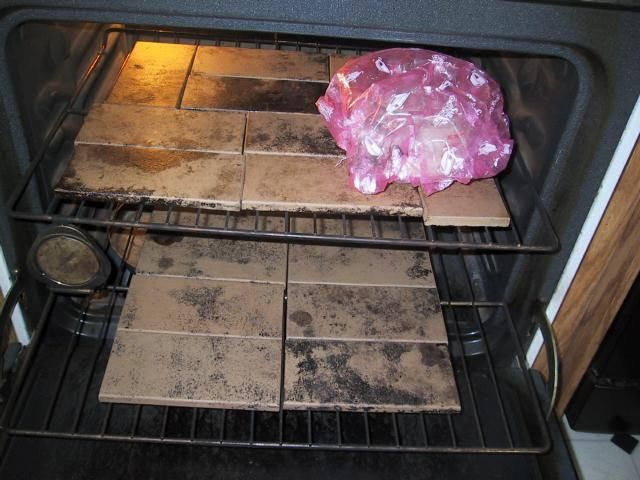 Using tiles in your oven - an alternative to pricey baking stones