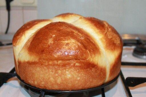 Французская булочка бирошь.