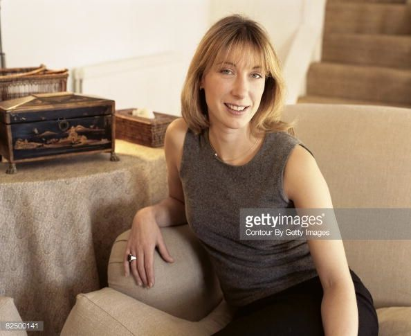 Samantha Cameron wife of Conservative party leader David Cameron poses for a portrait shoot in Oxford October 11 2001