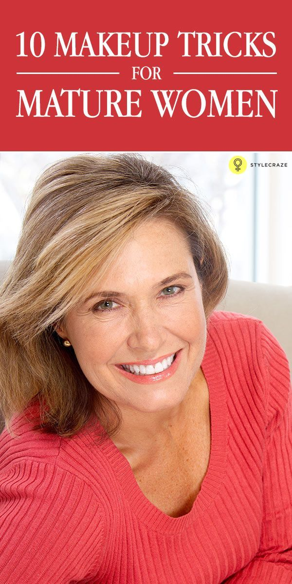 When you turn over 50, you need to know the right makeup application so as look younger! Learn the tips on #makeup for mature women that ...
