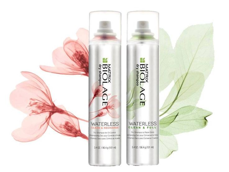 NEW| Biolage Waterless Dry Shampoo goes beyond cleansing with an advanced weightless, invisible formula to refresh, texturise and volumise… choose 'Clean & Recharge' for dedicated oil control or 'Clean & Full' for enviable volume.
