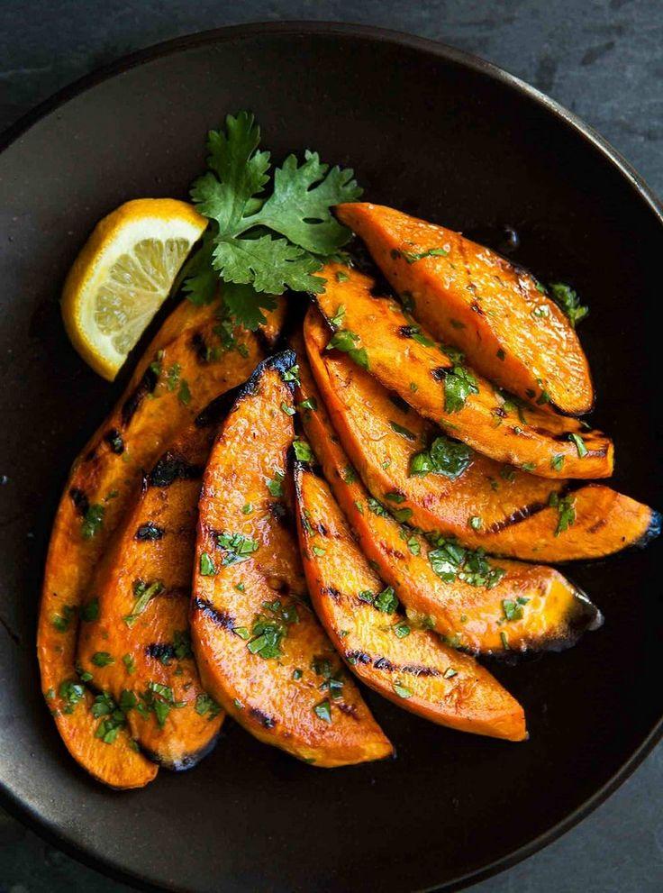 Low-Carb Rezept für gegrillte Süßkartoffeln