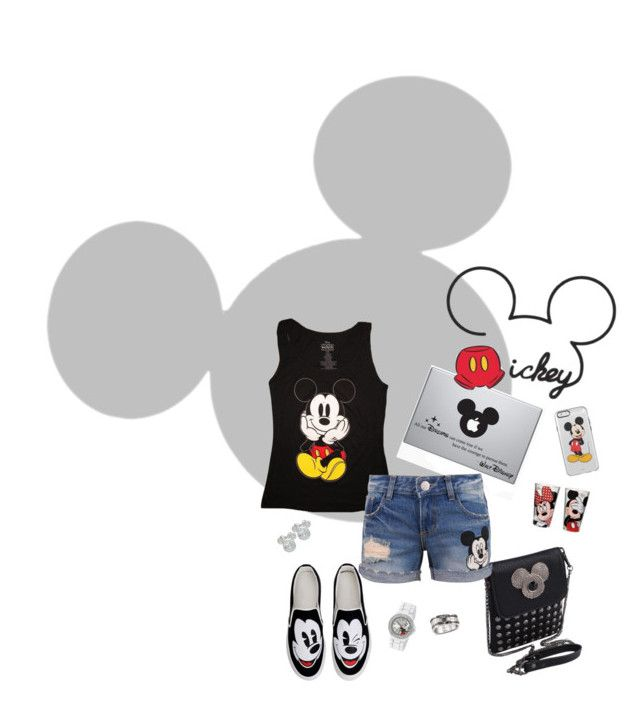 Mickey by sandra-briand on Polyvore featuring polyvore, fashion, style, Disney and York Wallcoverings