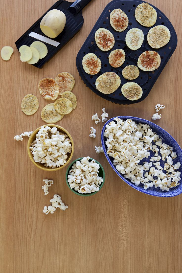 Epicure's 4 Minute Potato Chips and Popcorn