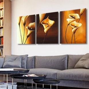These paintings would look amazing in my dream living room