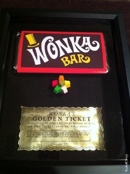 I found 'Willy Wonka and The Chocolate Factory (1971), Everlasting Gobstopper, Wonka Bar & Golden Ticket' on Wish, check it out!