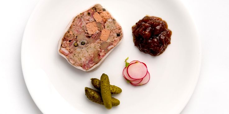 Terrine of calves liver  This terrine recipe uses calves liver to create a distinctive terrine for your guests to enjoy. Bryan Webb's recipe is a deliciously meaty terrine starter.