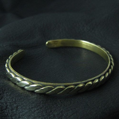 Bronze medieval bracelet by Sulik on Etsy