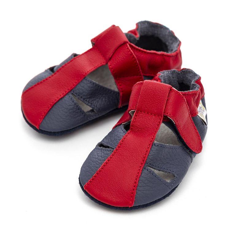 Liliputi® Soft Baby Sandals - Flame  http://www.liliputibabycarriers.com/soft-leather-baby-sandals/flame