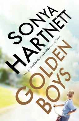 Golden boys by Sonya Hartnett - Miles Franklin Long List & Indie Book Awards