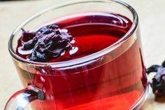 Chá de hibisco com gengibre e limão - foto: Reprodução/Thinkstock