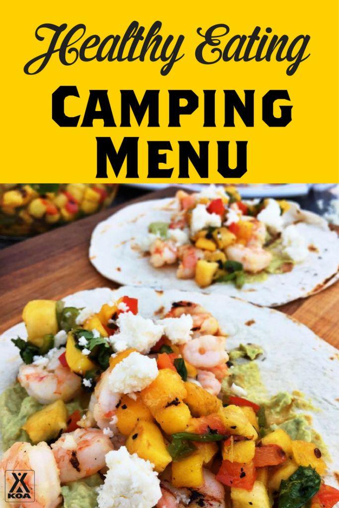 Healthy Eating Camping Menu