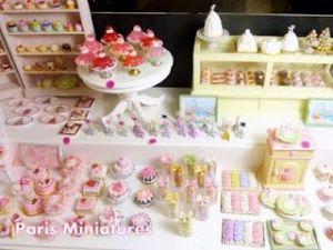 Miniatyr Food # franska bakverk stort sortiment av Sheryl