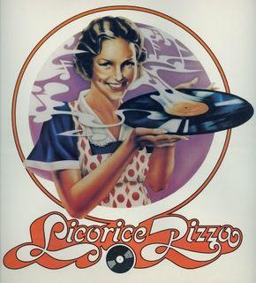 Licorice Pizza record store logo