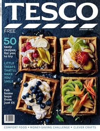 Tesco magazine – January 2017