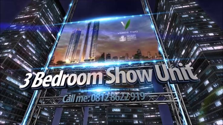 3 Bedroom Show Unit VERDE Two at Kuningan Jakarta