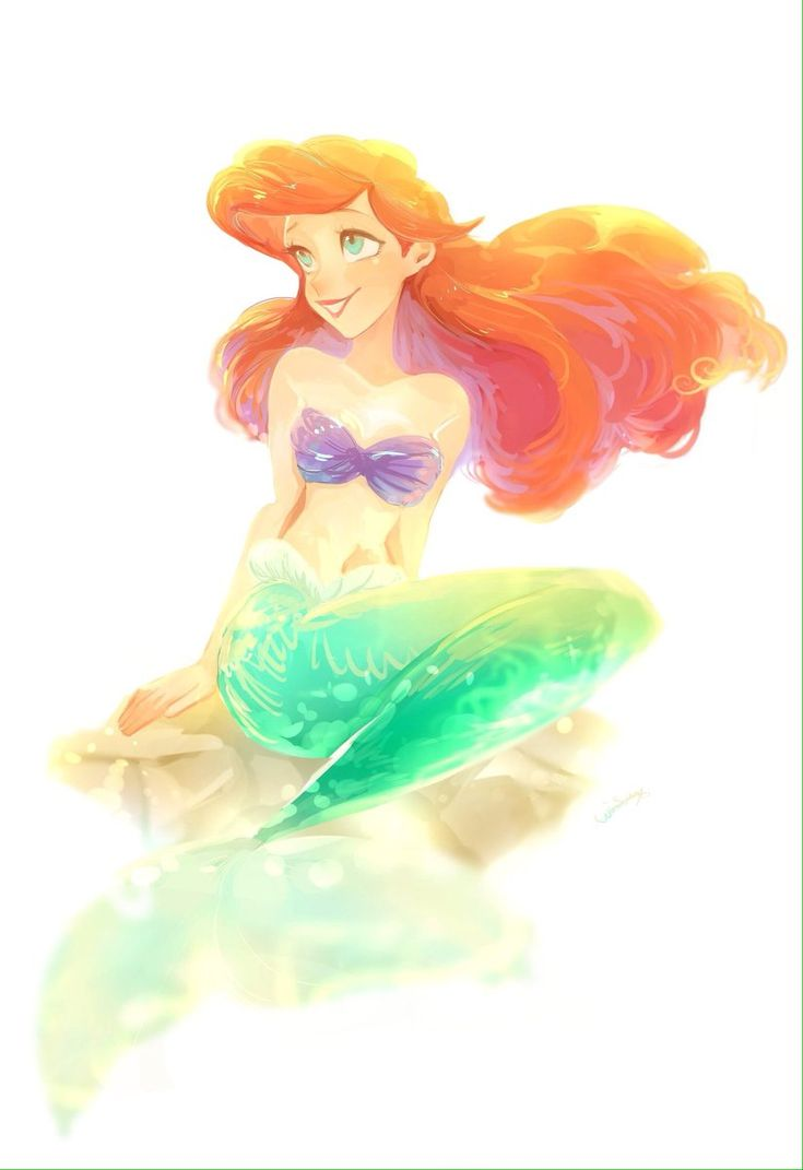 Ariel | La sirenita | The Little Mermaid | @Dgiiirls