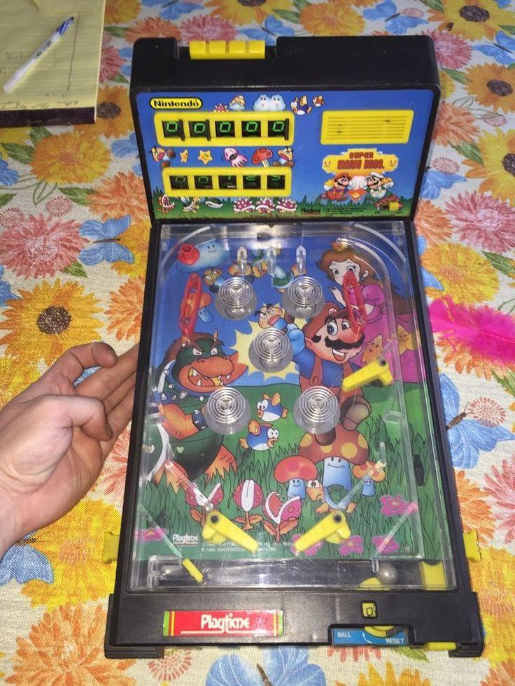 Super Mario Bros Pinball 1988 Playtime Vintage Electronic Nintendo game…
